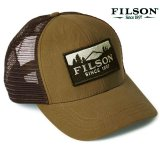 フィルソン ロガー メッシュ キャップ(ライトブラウン・ブラウン)/Filson Logger Mesh Cap