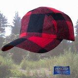 ペンドルトン ティンバーライン キャップ(ロブロイレッドプラッド)/Pendleton Timberline Cap(Rob Roy Red Plaid)
