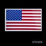 ビニール ステッカー アメリカ国旗/Sticker