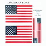 アウトドア仕様 防水ステッカー American Flags
