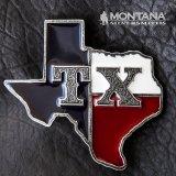 モンタナシルバースミス ウエスタン ベルト バックル TX ステイト オブ テキサス/Montana Silversmiths Belt Buckle