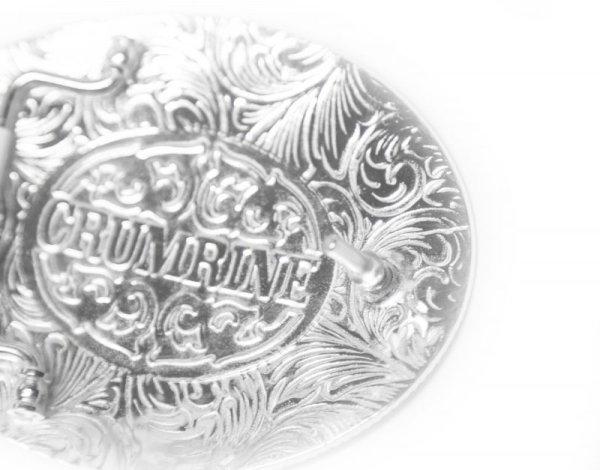 画像3: クラムライン ベルト バックル フローラルスクロール/Crumrine Belt Buckle(Floral Scroll)