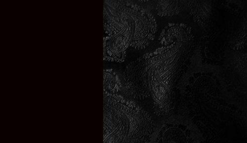 画像クリックで大きく確認できます Click↓3: スカリー オールドウエスト ベスト(ペイズリーブラック)/Scully Old West Paisley Vest (Black)