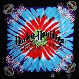 ハーレーダビッドソン バンダナ(ブラック・Harley-Davidson ターコイズ レッド)/Harley Davidson Bandana