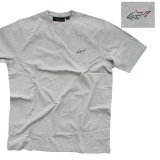 グレッグノーマン フィッシュ 半袖 Tシャツ(ライトグレー)/Greg Norman T-shirt
