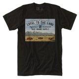 ウエスト バッファロー オーガニックコットン 半袖 Tシャツ(ブラック)M/T-shirt West(Black)