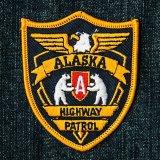 ワッペン アラスカ ハイウェイ パトロール/Patch Alaska