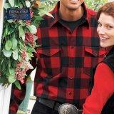 ペンドルトン ウールシャツ・ガイドシャツ=アウトドアーズマン・レッド×ブラック(バッファローチェック)XL/Pendleton Guide Shirt (Outdoorsman)