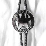 テキサス レンジャー ボロタイ シルバースター/Bolo Tie Texas Ranger