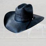 ベイリー ウエスタン ストロー ハット(ブラック)56cm/Bailey Western Straw Hat(Black)