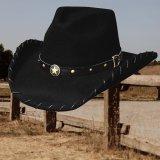 フォートワース ローンスター ハット(ブラック)/Fort Worth Lone Star Hat(Black)