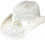 ブルハイド ウエスタン ストローハット イッチィグーニー(ホワイト)/Bullhide Western Straw Hat Itchygoonie(White)