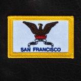 ワッペン カリフォルニア州サンフランシスコ市旗/Patch SAN FRANCISCO City Flag