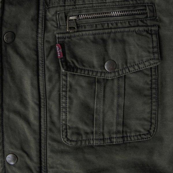 画像3: リーバイス トラッカー ジャケット(オリーブ)/Levi's Jacket(Olive)