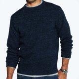 ペンドルトン シェトランド ウール セーター(インディゴヘザー)XS/Pendleton Shetland Wool Sweater Indigo Heather