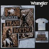 ラングラー ウエスタン Tシャツ チームローピング(半袖)/Wrangler T-shirt