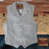 ウォールズ ウエスタン ウール ベスト(ライトグレー)/Walls Wool Vest