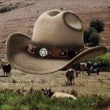 リトル カウボーイハット・サイズ調整テープ70cmつき(キッズ・サンド)/Lil Cowboy Wool Hat(Sand)