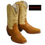 ステットソン ウエスタンブーツ(タン・クリーム)/Stetson Western Boots(Tan/Cream)