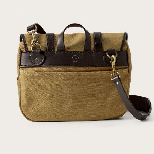 画像2: フィルソン ラージショルダーバッグ(カーキ)/Filson Medium Field Bag(Tan)