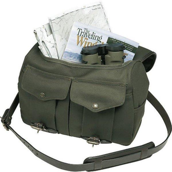 画像5: フィルソン ラージショルダーバッグ(ネイビー)/Filson Medium Field Bag(Navy)
