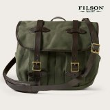 フィルソン ラージショルダーバッグ(オッターグリーン)/Filson Medium Field Bag(Otter Green)