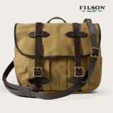 フィルソン ラージショルダーバッグ(カーキ)/Filson Medium Field Bag(Tan)