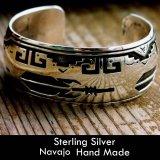 ナバホ スターリングシルバー ハンドメイド ブレスレット/Navajo Sterling Silver Bracelet