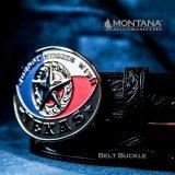 モンタナシルバースミス テキサススター ウエスタン ベルト バックル/Montana Silversmiths Belt Buckle