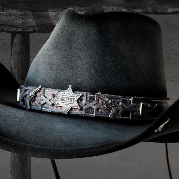 画像1: ベスト ショット ウエスタン プレミアムウール ハット(グレー)/Western Premium Wool Hat(Gray)