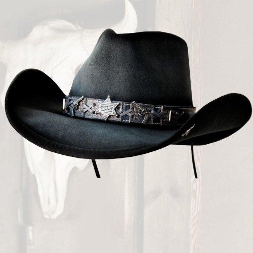 画像クリックで大きく確認できます Click↓2: ベスト ショット ウエスタン プレミアムウール ハット(グレー)/Western Premium Wool Hat(Gray)