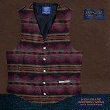 ペンドルトン U.S.A ヴァ-ジン ウール ベスト(ブラウン・グレー)/Pendleton U.S.A Virgin Wool Vest Pinetop(Brown/Grey)