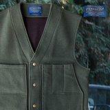 ペンドルトン ヘリテッッジ リミテッドエディション ウールベスト(フォレストグリーン)M/Pendleton Heritage Limited Edition Wool Vest(Forest Green)