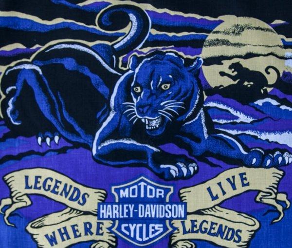 画像2: ハーレーダビッドソン バンダナ(ブラック・LEGENDS LIVE)/Harley Davidson Bandana