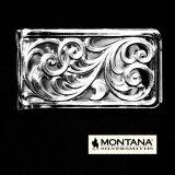モンタナシルバースミス マネークリップ シルバー フィリグリー/Montana Silversmiths Money Clip Filigree scroll pattern