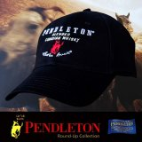 ペンドルトン ロデオ キャップ(ブラック)/Pendleton Round Up Whisky Cap(Black)