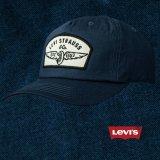 リーバイス ロゴパッチ キャップ(ネイビー)/Levi's Baseball Cap(Navy)