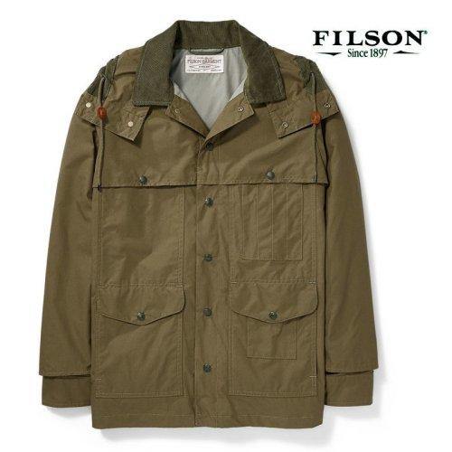 画像クリックで大きく確認できます Click↓1: フィルソン ライトウェイト ドライクロス クルーザー(マーシュオリーブ)/Filson Lightweight Dry Cloth Cruiser(Marsh Olive)