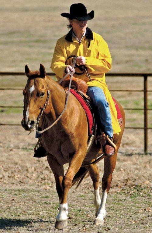 画像クリックで大きく確認できます Click↓2: サドルスリッカー・乗馬用レインコート(イエロー)/M&F Western Products Double S Saddle Slicker(Yellow)