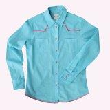 ローパー ステッチ ウエスタンシャツ ターコイズ・ピンク(長袖/レディース)/Roper Long Sleeve Western Shirt(Women's)