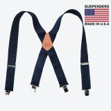 サスペンダー クリップ式(ネイビー)/M&F Western Products Clip Suspenders(Navy)