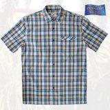 ペンドルトン 半袖 シャツ(ネイビー・イエロー)S/Pendleton Short Sleeve Surf Shirt