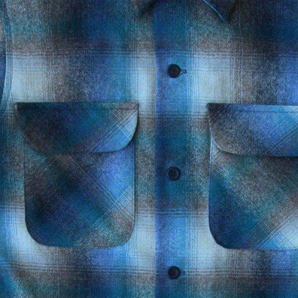 画像2: ペンドルトン ウールシャツ ビンテージフィット ボードシャツ ラグーン・タンXXS/Pendleton Vintage  Fit Board Shirt