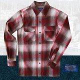 ペンドルトン ウールシャツ ビンテージフィット ボードシャツ クラレット・タン/Pendleton Vintage Fit Board Shirt