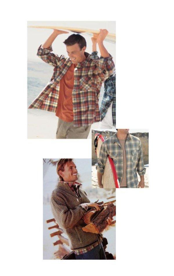 画像3: ペンドルトン ウールシャツ ビンテージフィット ボードシャツ クラレット・タン/Pendleton Vintage Fit Board Shirt