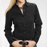 ステットソン フローラル ジャガード ウエスタンシャツ ブラック(長袖)/Stetson Long Sleeve Western Shirt(Women's)