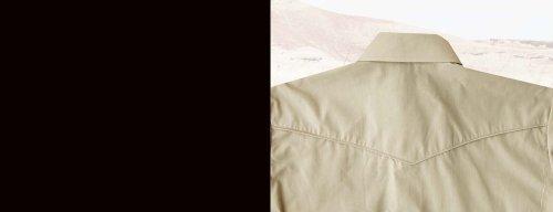 画像クリックで大きく確認できます Click↓2: ローパー 刺繍 ウエスタンシャツ タン(長袖)/Roper Long Sleeve Western Shirt