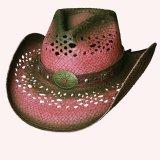 ブルハイド ウエスタン ストローハット(クローザー)/BULLHIDE Western Straw Hat Closer