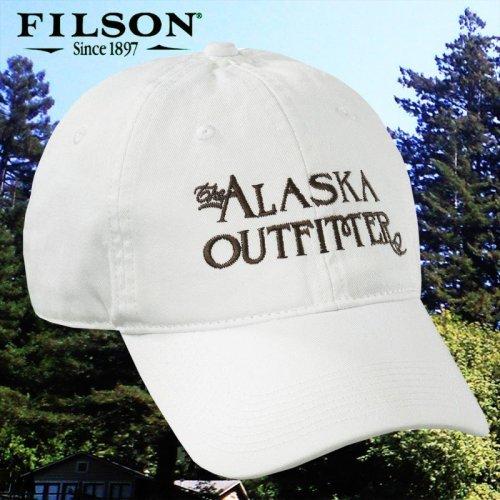 画像クリックで大きく確認できます Click↓1: フィルソン アラスカ アウトフィッターズ キャップ(ホワイト)/Filson Cap