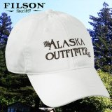 フィルソン アラスカ アウトフィッターズ キャップ(ホワイト)/Filson Cap